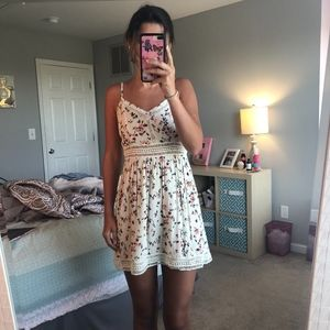 Abercrombie & Fitch floral mini sundress